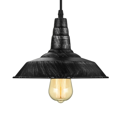 Antique silver 10 wide barn led pendant light in industrial antique silver 10 wide barn led pendant light in industrial style mozeypictures Choice Image