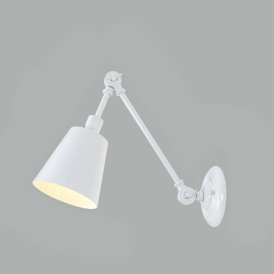 White Small Adjustable LED Wall Lamp In Modern Design