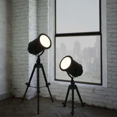 Fashion style floor lamps industrial lighting beautifulhalo useful designer adjustable led table lamp in black finish greentooth Images