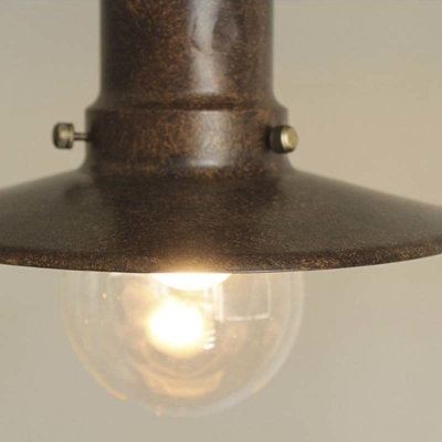 Marine 1 Light Small LED Pendant in Black Finish