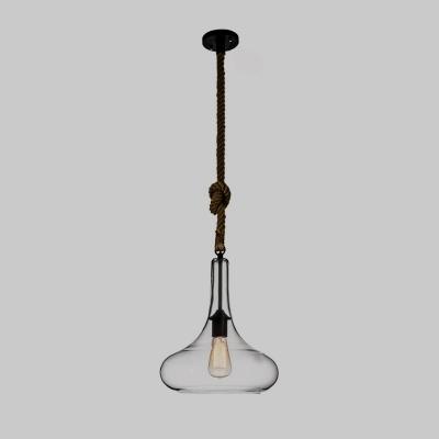 Clear glass led mini pendant light restaurant lighting fixture with clear glass led mini pendant light restaurant lighting fixture with rope accent aloadofball Gallery