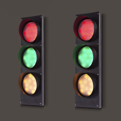 Remote Control 3 Light Traffic Light 18 H 5w Energy