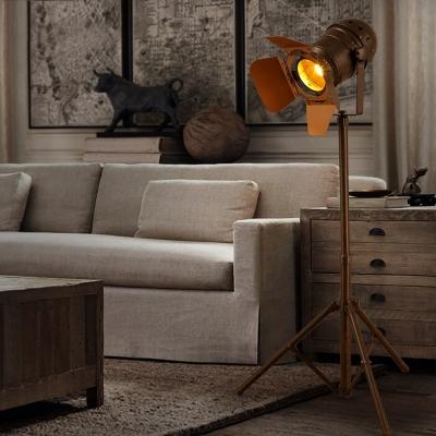 tripod spotlight floor lamp canada amazon rust single light industrial