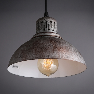 Classic Industrial Style Barn Shaped Metal Shade Multi