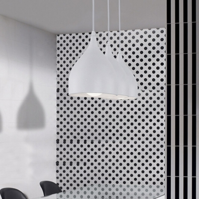 Mini One Light Hanging Pendant with Dome Shade in Concise Style