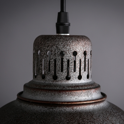 Classic Industrial Style Barn Shaped Metal Shade Multi-Light Pendant