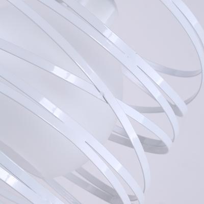 Empire Antique White Finished Single Light Hanging Pendant