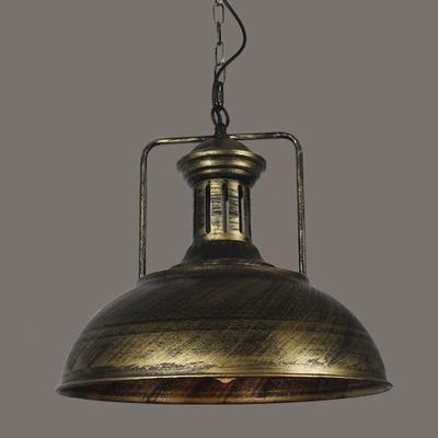 Fashion style pendant lights bronze industrial lighting classic distressed bronze barn shaped 1 lt pendant light aloadofball Gallery