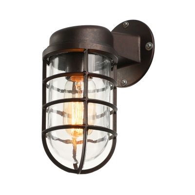 hallway sconce lighting. Rustic One Light Metal Hallway Sconce Antique Bronze 3.74 Lighting I