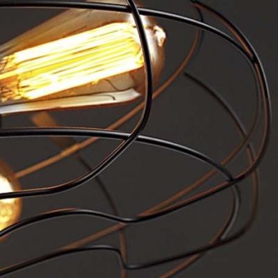 Wrought Iron Novelty 3 Lt Black Sconce Wall Light
