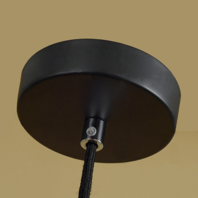 Dome Shape Cement and Glass Mini Pendant Light