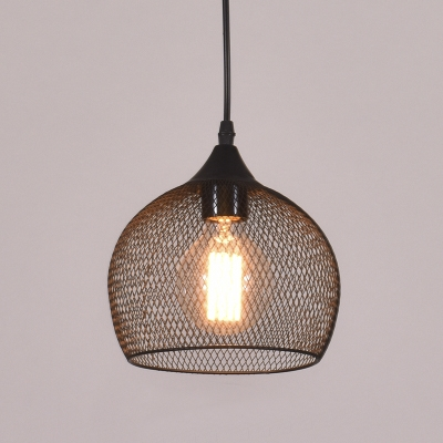 Mesh Style Dome Shape 1 Lt Hanging Light
