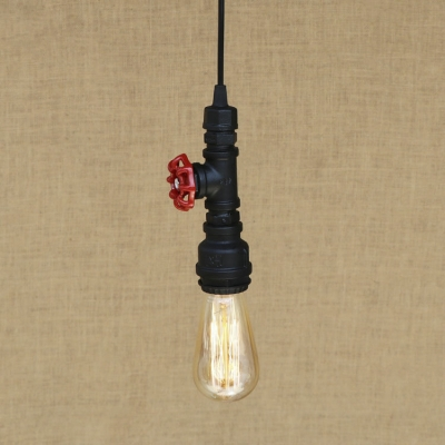 Retro Loft Mini Sized Black Pendant Industrial Metal Ceiling Light