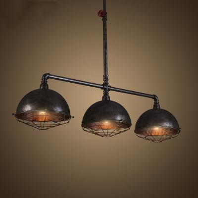 Pipe Designed Light Vintage Iron Lighting Fixture Rustic - Industrial island lighting fixtures