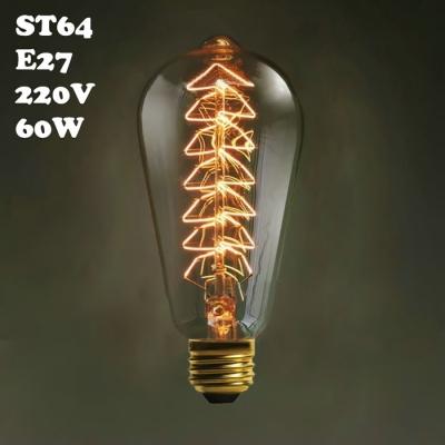 Exclusive 40W ST64 220V  E27  Edison Bulb