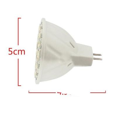 5050SMD MR16 3.6W 9-30V  6000K