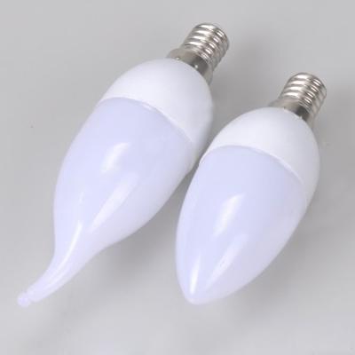360° E14 3W 85-265V 8Leds 6000K  LED Candle Bulb