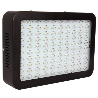 Image of 300W LED Grow Light Full Spectrum 100 LEDs 7000LM - Black