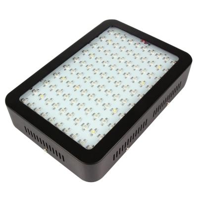 300W LED Grow Light Full Spectrum 100 LEDs 7000LM - Black