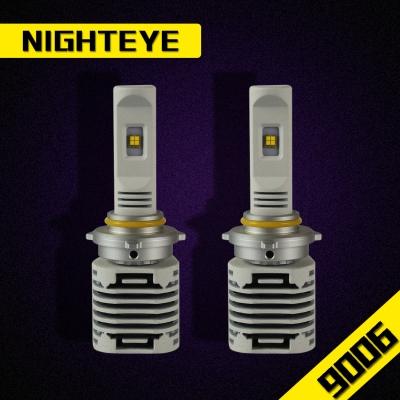 NIGHTEYE N1 Car LED Headlight Bulbs 9006/HB4 80W 12000LM Luxeon-C/MZ 6000K LED Pack of 2