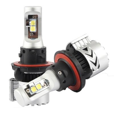 Car Dual Beam LED Headlight Bulbs H13 72W 12000LM 6500K XHP50 CREE LED Pack of 2