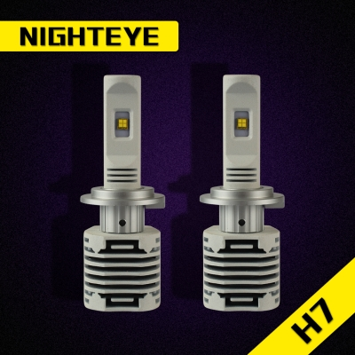 NIGHTEYE N1 Car LED Headlight Bulbs H7 80W 12000LM Luxeon-C/MZ 6000K LED Pack of 2
