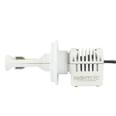 NIGHTEYE N1 Car LED Headlight Bulbs H4 80W 12000LM Luxeon-C/MZ 6000K LED Pack of 2