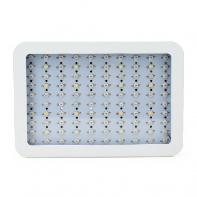 1000W LED Grow Light Full Specturm 100 LEDs 13000LM - White