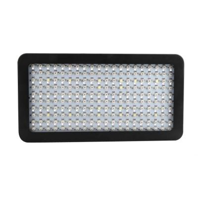 2000W LED Grow Light Full Specturm 200 LEDs 30000LM - Black