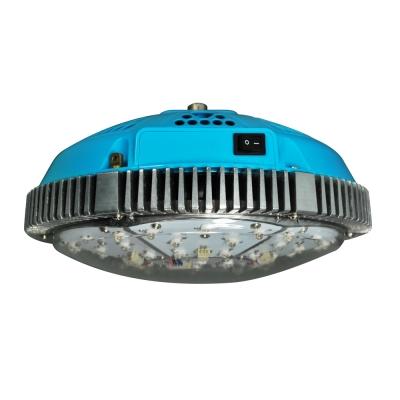 UFO 150W Full Spectrum LED Grow Light 75 LEDs - Blue