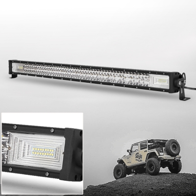 7D+ 42 Inch Combo Beam LED Work Light Bar 540W Three Rows 30 Degree Spot+150 Degree OSRAM LED Car Light for Off Road Truck ATV SUV 4WD Car - 2017 NEW ARRIVAL