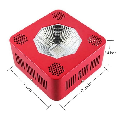 192W COB LED Grow Light for Full Spectrum 64 LEDs (Red)