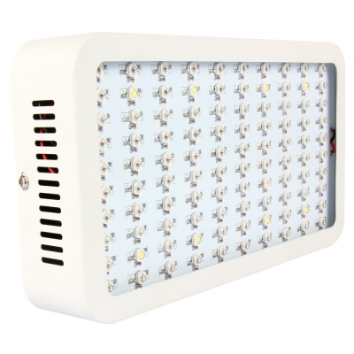 300W LED Grow Light Full Spectrum 100 LEDs 7000LM - White