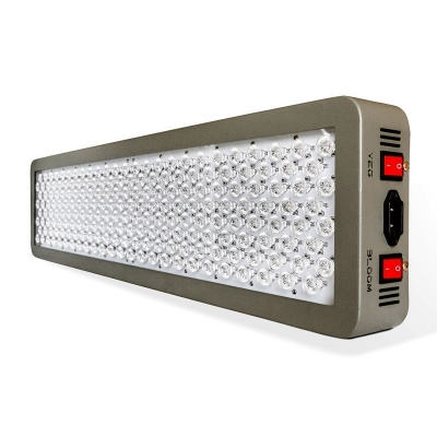 Image of 600W Dimmable LED Grow Light Full Spectrum 200 LEDs - Gray