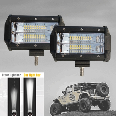 5 Inch Spot Beam CREE LED Car Light Work Light Bar for 4WD Off Road ATV SUV Trucks Pack of 2