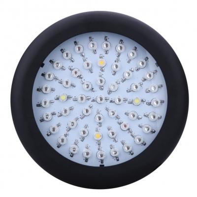 Image of UFO 150W Full Spectrum LED Grow Light 50 LEDs 3000LM - Black