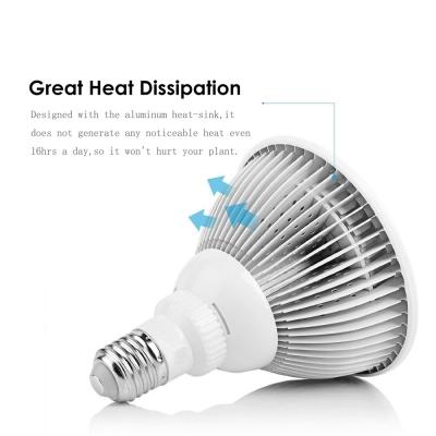 E27 12W LED Plant Grow Light Bulb 12 LEDs 600LM