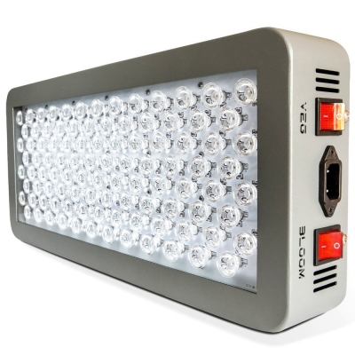 Image of 300W Dimmable LED Grow Light Full Spectrum 100 LEDs - Gray