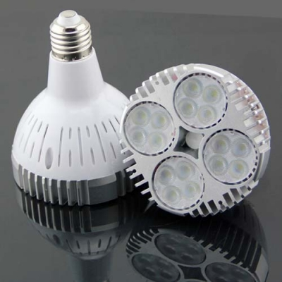 E27 48W LED Grow Light Bulb Full Spectrum 16 LEDs