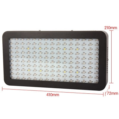 1500W LED Grow Light Full Specturm 150 LEDs 28000LM - Black