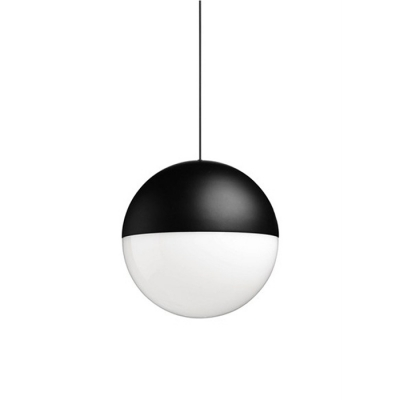 Globe Hanging Light With Long  Plug-In Cord, 2 Lights 7.4