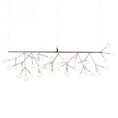 LED Wire Double Layers Chandelier