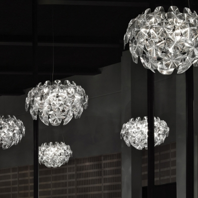 Modern Polycarbonate Chandelier