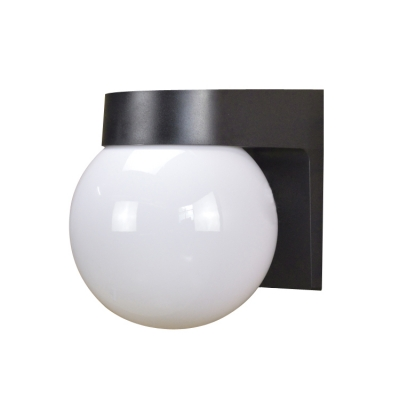 competitive price 0d750 5188d Outdoor Wall Sconce Glass Ball