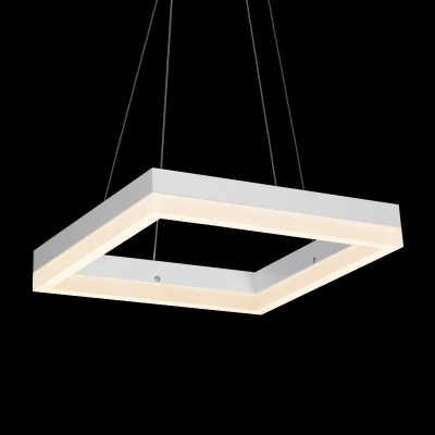 Square LED Suspension 8''
