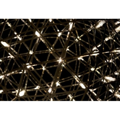Large LED Suspension Pendant Light in Dome Shape