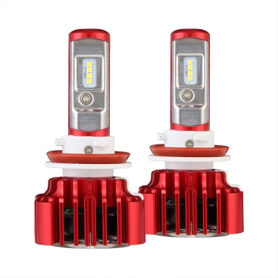 Nighteye A372 Car LED  Headlight Bulbs H11 60W 8000LM 6000K CSP LED, Pack of 2