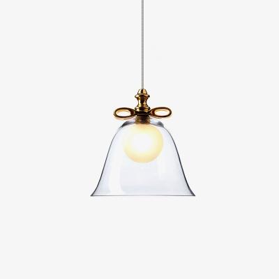 Bell pendant light glass mini sized beautifulhalo bell pendant light glass mini sized aloadofball Gallery