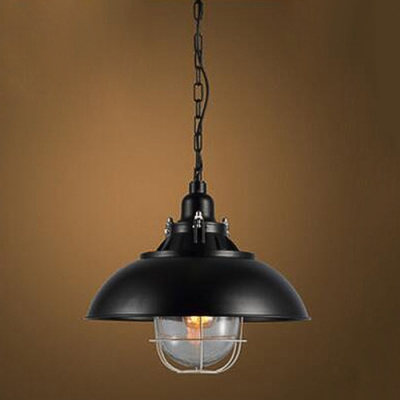 industrial style pendant lighting. Industrial Style Pendant Light With Matte Black Bowl Shade, 15.7\u0027\u0027 Diameter 1 Lighting