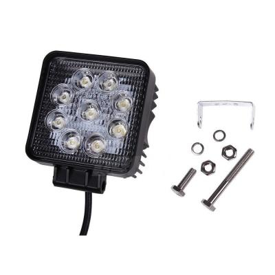 5 Inch LED Work Light 27W Cree LED Flood Beam For Off Road 4x4 Jeep Truck ATV SUV Pickup Boat, 10 Pcs